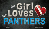 This Girl Loves Her Panthers Wholesale Magnet M-8041