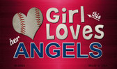 This Girl Loves Her Angels Wholesale Magnet M-8064