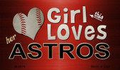 This Girl Loves Her Astros Wholesale Magnet M-8076