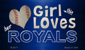 This Girl Loves Her Royals Wholesale Magnet M-8077