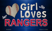 This Girl Loves Her Rangers Wholesale Magnet M-8089