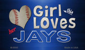 This Girl Loves Her Jays Wholesale Magnet M-8090