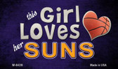This Girl Loves Her Suns Wholesale Magnet M-8439