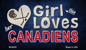 This Girl Loves Her Canadiens Wholesale Magnet M-8450
