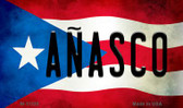 A'_αasco Puerto Rico State Flag Wholesale Magnet M-11320