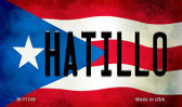 Hatillo Puerto Rico State Flag Wholesale Magnet M-11348