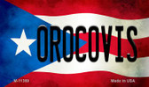 Orocovis Puerto Rico State Flag Wholesale Magnet M-11369