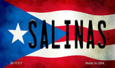 Salinas Puerto Rico State Flag Wholesale Magnet M-11377