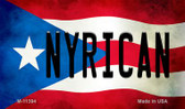 Nyrican Puerto Rico State Flag Wholesale Magnet M-11394
