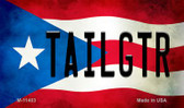 Tailgtr Puerto Rico State Flag Wholesale Magnet M-11403