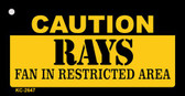 Caution Rays Fan Area Wholesale Key Chain