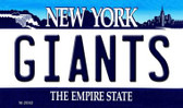 Giants New York State License Plate Wholesale Magnet M-2052