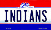 Indians Ohio State License Plate Wholesale Magnet M-2074