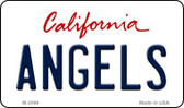Angels California State License Plate Wholesale Magnet M-2096