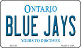 Blue Jays Ontario State License Plate Wholesale Magnet M-2101