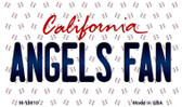 Angels Fan California State License Plate Wholesale Magnet M-10810