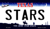 Stars Texas State License Plate Wholesale Magnet M-2300