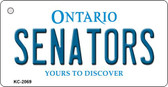 Senators Ontario State License Plate Wholesale Key Chain KC-2069