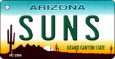 Suns Arizona State License Plate Wholesale Key Chain KC-2586