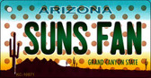 Suns Fan Arizona State License Plate Wholesale Key Chain KC-10871