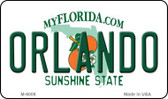 Orlando Florida State License Plate Wholesale Magnet M-6006