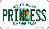 Princess Florida State License Plate Wholesale Magnet M-6023