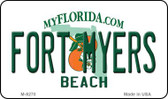 Fort Myers Beach Florida State License Plate Wholesale Magnet M-8270