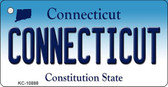 Connecticut State License Plate Wholesale Key Chain KC-10888