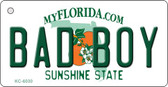 Bad Boy Florida State License Plate Wholesale Key Chain KC-6030