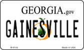 Gainesville Georgia State License Plate Novelty Wholesale Magnet M-6144