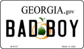 Bad Boy Georgia State License Plate Novelty Wholesale Magnet M-6157