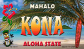 Kona Tiki Novelty Wholesale Metal Magnet M-7811