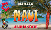 Maui Tiki Novelty Wholesale Metal Magnet M-7812