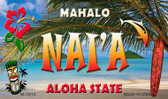 Nai'a Tiki Novelty Wholesale Metal Magnet M-7814