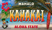 Kahakai Tiki Novelty Wholesale Metal Magnet M-7815