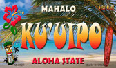 Ku'uipo Tiki Novelty Wholesale Metal Magnet M-7821