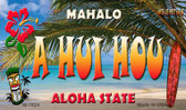 A Hui Hou Tiki Novelty Wholesale Metal Magnet M-7824