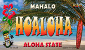 Hoaloha Tiki Novelty Wholesale Metal Magnet M-7828
