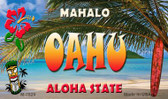 Oahu Tiki Novelty Wholesale Metal Magnet M-7829