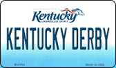 Kentucky Derby State License Plate Novelty Wholesale Magnet M-6764