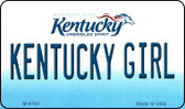 Kentucky Girl State License Plate Novelty Wholesale Magnet M-6765