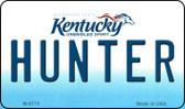 Hunter Kentucky State License Plate Novelty Wholesale Magnet M-6775