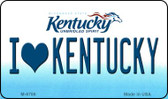 I Love Kentucky State License Plate Novelty Wholesale Magnet M-6786