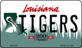 Tigers Louisiana State License Plate Novelty Wholesale Magnet M-6185