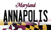 Annapolis Maryland State License Plate Wholesale Magnet