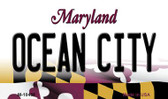 Ocen City Maryland State License Plate Wholesale Magnet