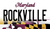 Rockville Maryland State License Plate Wholesale Magnet