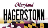 Hagerstown Maryland State License Plate Wholesale Magnet
