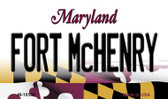 Fort McHenry Maryland State License Plate Wholesale Magnet