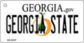 Georgia State University License Plate Novelty Wholesale Key Chain KC-6137